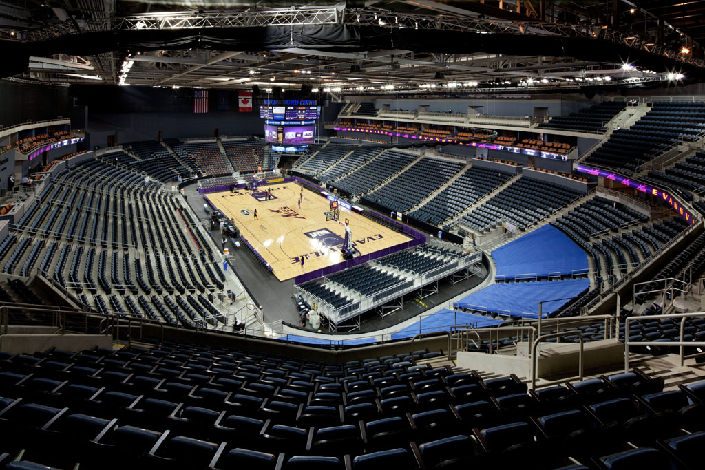 Indianapolis_S.E_Evansville Indiana_Ford Center Evansville Arena