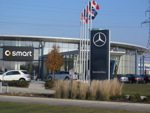 Ontario automobile dealership burlington on mercedes benz for Mercedes benz dealership indianapolis