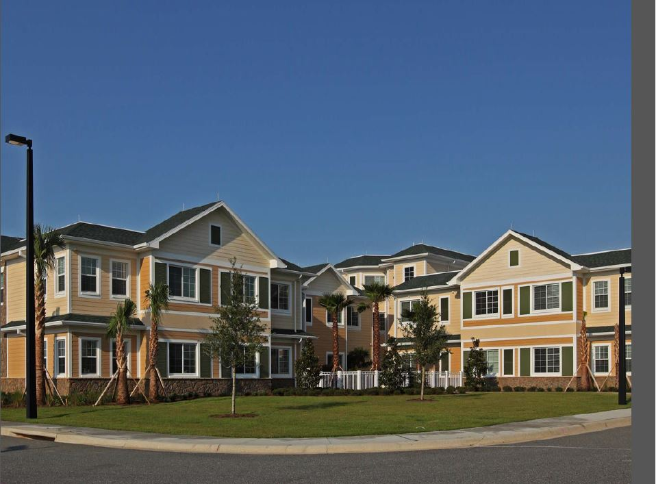 Precast concrete for retirement homes assisted living for Precast concrete homes florida