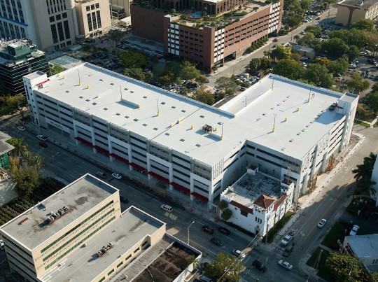 Broward County Courthouse Parking Structure, Miami, FL - Coreslab Structures (MIAMI) Inc.