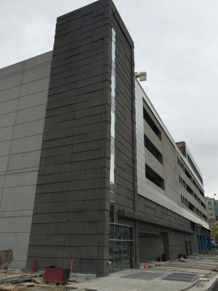 Skyline Parking Garage, Fort Wayne, IN - Coreslab Structures (INDIANAPOLIS) Inc.
