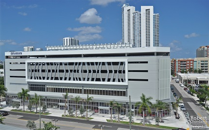 Braman Motors Showroom, Miami, FL - Coreslab Structures (MIAMI) Inc.