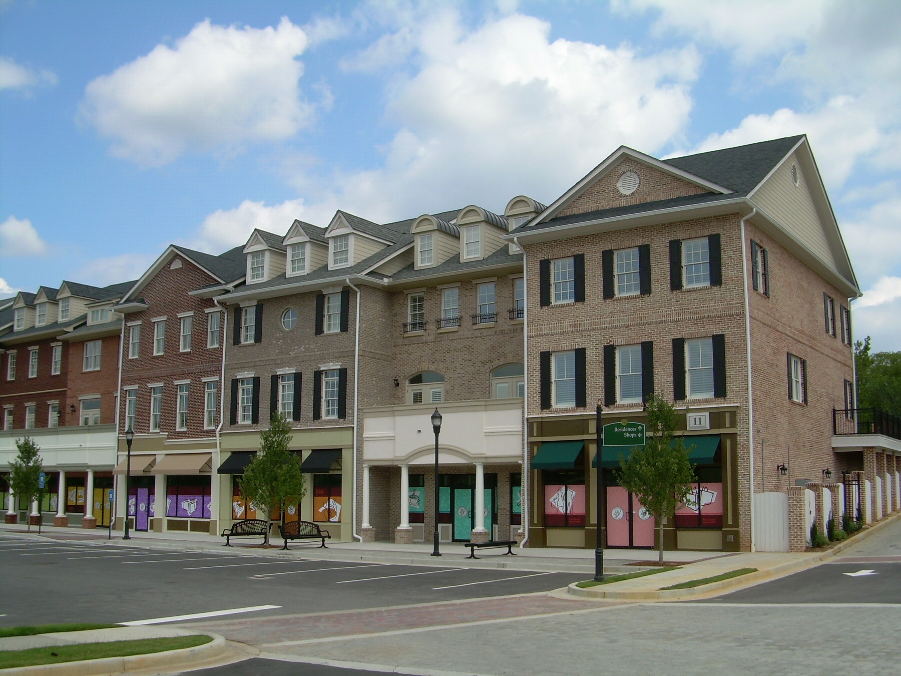 Atlanta_MixedUse_Buford Village_Burford, GA