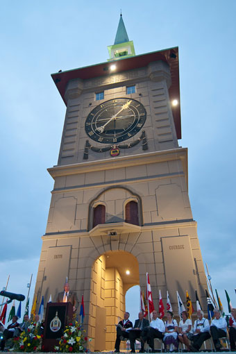 Indianapolis_Public Utility_Berne Indiana_Berne Clock Tower