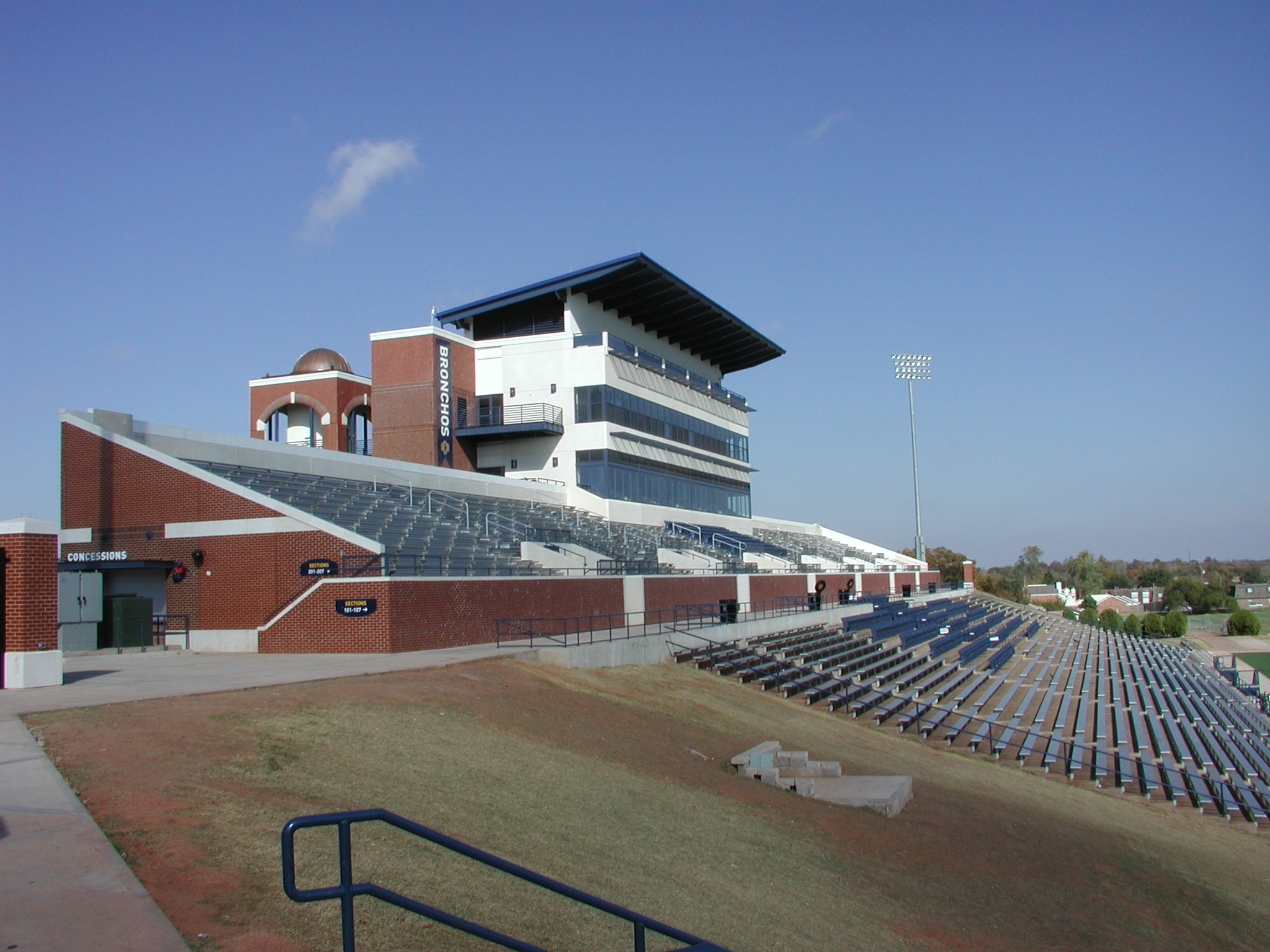 Oklahoma_S.E_Edmond Oklahoma_UCO Wantland Stadium Expansion