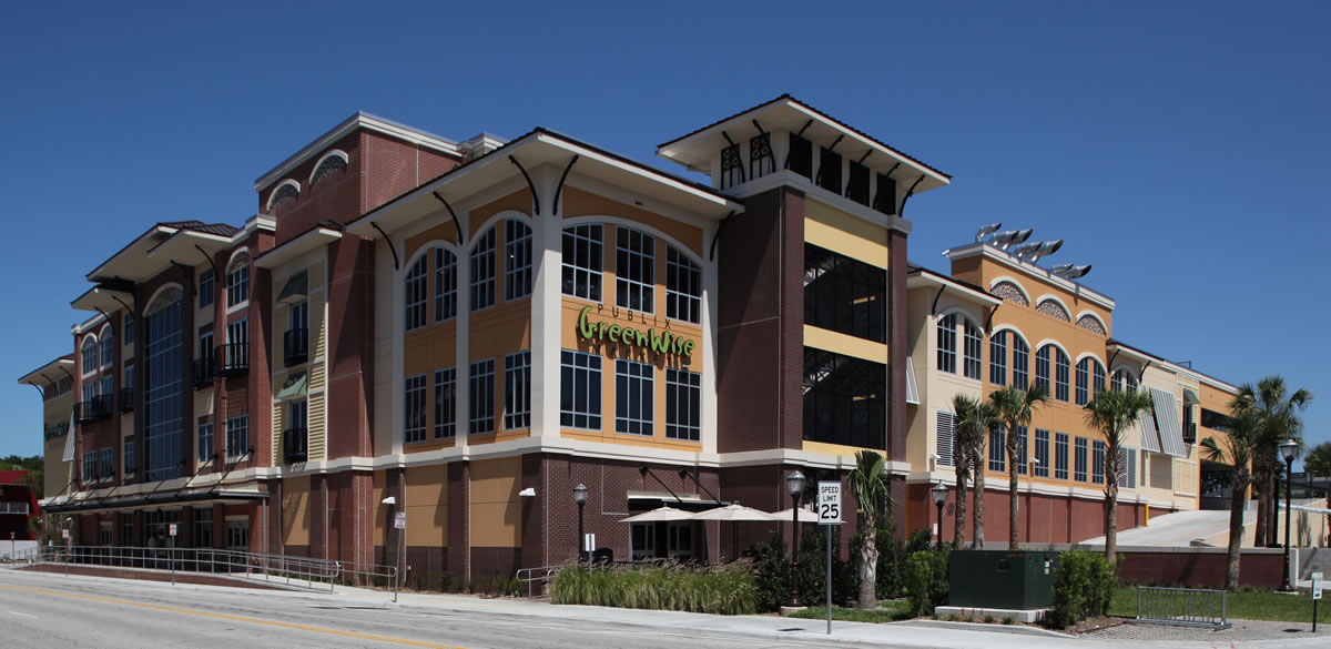 Tampa_Mixed Use Structures_Tampa_Publix Greenwise