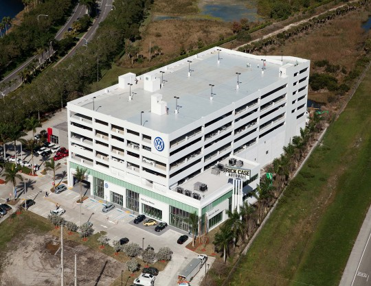 Rick Case Volkswagon Dealership, Miami, FL - Coreslab Structures (MIAMI) Inc.