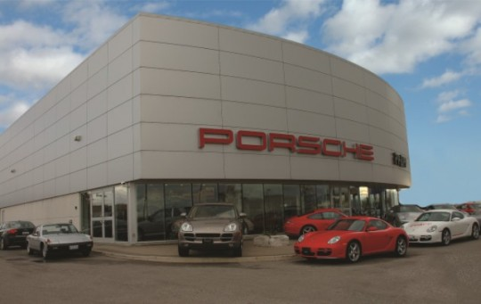 Pfaff Porsche, Woodbridge, ON - Coreslab Structures (ONT) Inc.