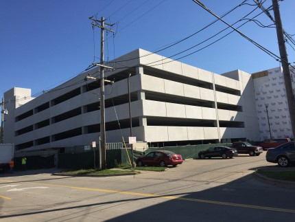 Campus Circle Parking Garage, Champagne, IL - Coreslab Structures (INDIANAPOLIS) Inc.