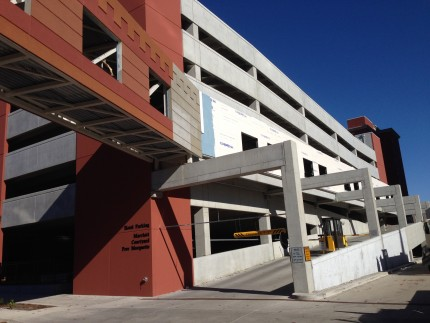 Marriott Courtyard Parking Garage, Peoria, IL - Coreslab Structures (INDIANAPOLIS) Inc.