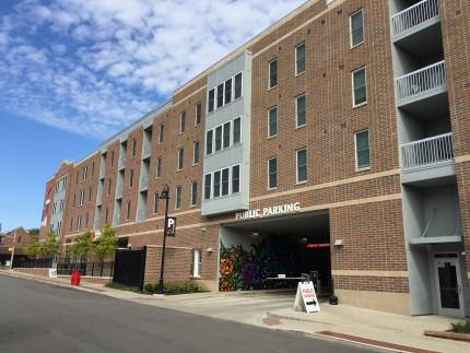Muncie Mixed Use Parking Garage, Muncie, IN - Coreslab Structures (INDIANAPOLIS) Inc.