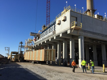 Tate & Lyle RTO Platform, Lafayette, IN - Coreslab Structures (INDIANAPOLIS) Inc.