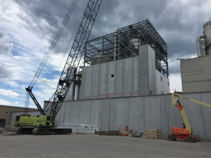 Tate & Lyle Spray & Flash Dryers, Lafayette, IN - Coreslab Structures (INDIANAPOLIS) Inc.