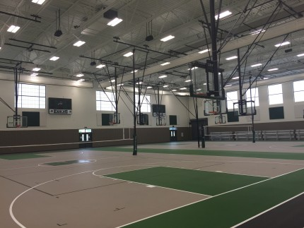 Zionsville High School Gym Addition, Zionsville, IN - Coreslab Structures (INDIANAPOLIS) Inc.